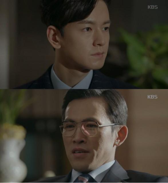 チェ・ヒョンジュン(ユ・オソン)は急に訪れたジテにノ・ウル(スジ)PDを助けてくださいとお願いします。