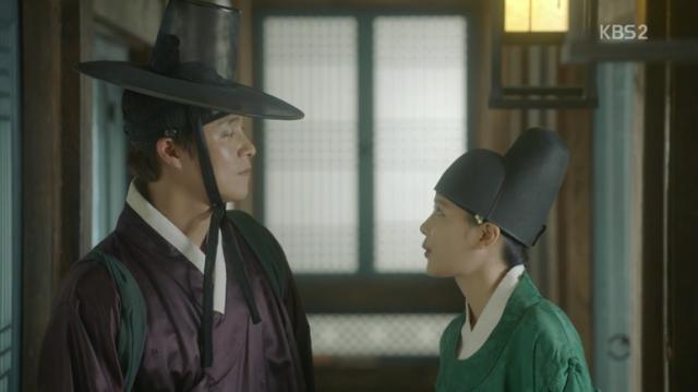 マ・ジョンジャは去る前ホン・ラオン(キム・ユジョン)に、他の人の縁だけ考えずに自分の周りをよく見てと耳打ちをしてあげます。