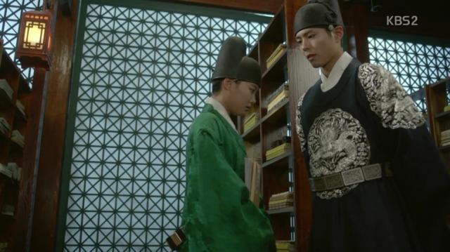 ラオンは女性を恋慕したことあるのかと李・旲に尋ねます。