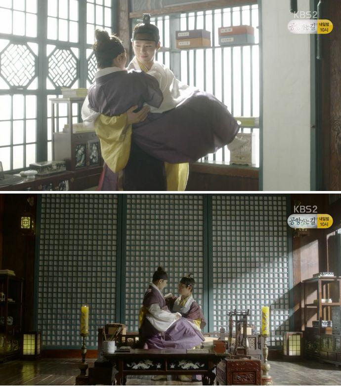 そんな彼女の心にまたまた感動したイ・ヨンはラオンをお姫様抱っこをしてあげながら幸せな時間を過ごします。