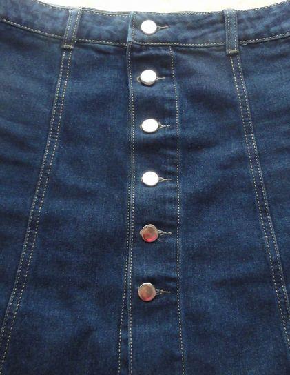 デニムスカートボタン