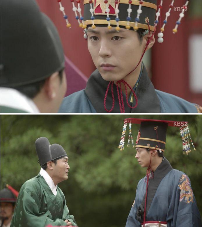 結婚式の当日ホン・キョンレが捕まって王様が倒れた話を聞きます