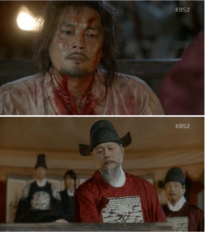 嘘を言う刺客をイ・ヨンがの目の前で殺してしまいます。