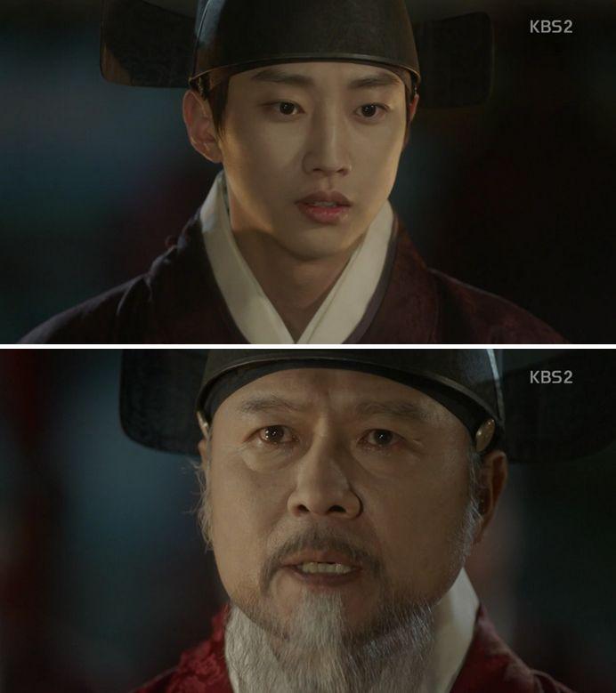 キム・ホンはイヨンがラオンと関係があると言いながら脅迫します。