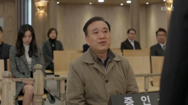 叔父は証言で、コ・ナンギル(キム・ヨングァン)が自分と姉をだまして結婚をして土地を奪ったと主張します。