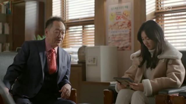 ナリはダダファイナンス会長に訪ねてコ・ナンギルが誰だか問いて、本当に自分の父であるホン・ソンギュを殺したかどうかについても尋ねます。