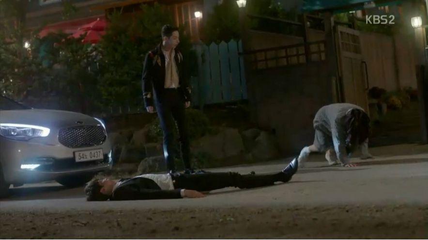 クォン・ドクボンが二人を見つけずに事故になりそうだったです