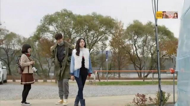 ナリはソウルへ戻る前にビニルハウスに自分が蒔いた種がどのくらい伸びたのか見てから行くと言ってビニルハウスに入ります。