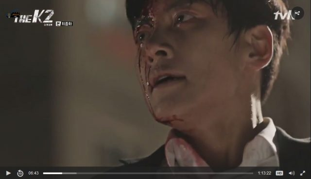 [THE K2]16話の日本語字幕入り動画