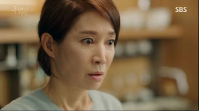 ジュンジェの母親は自分が作ったおかずをカン・ソヒが食べた事に衝撃を