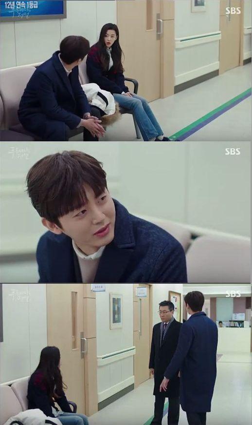 ジュンジェはシムチョンを連れて南部長が入院している病院へ来ました。