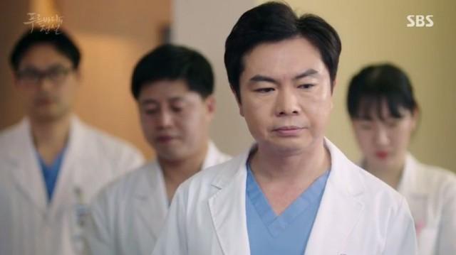 医者として特別出演したイム・ウオンヒ
