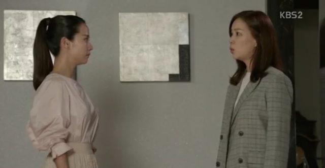 ジェボクはウニに手伝いさんがお母さんであることを問いながら疑います。