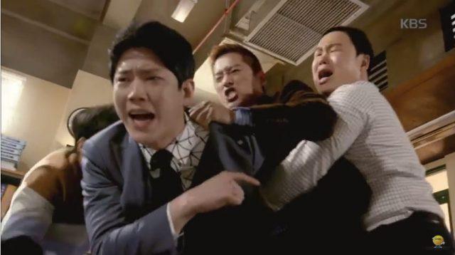 キム課長とパクミョンソクの喧嘩