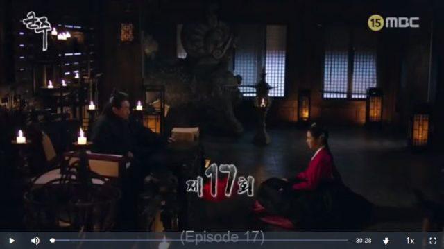君主ー仮面の主人17話18話の英語字幕入り動画