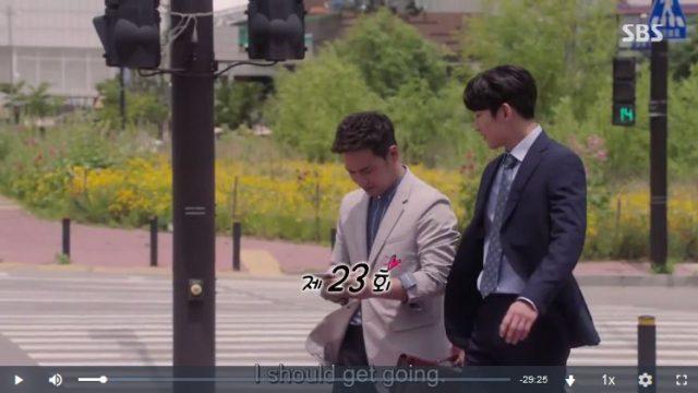 怪しいパートナー23話の英語字幕入り動画