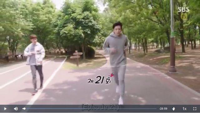 怪しいパートナー21話の英語字幕入り動画