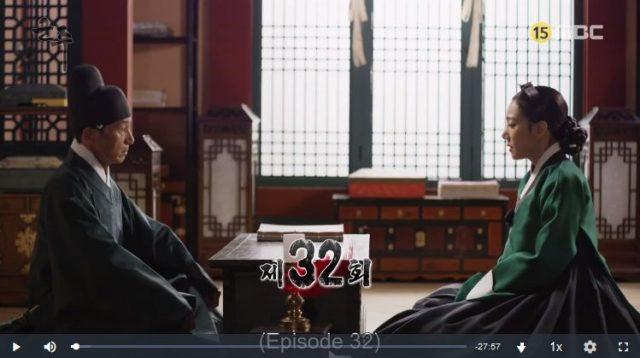 君主ー仮面の主人32話英語字幕動画