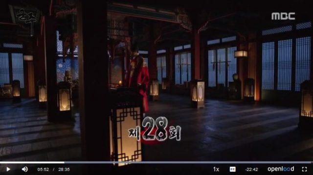 君主ー仮面の主人28話の英語字幕入り動画