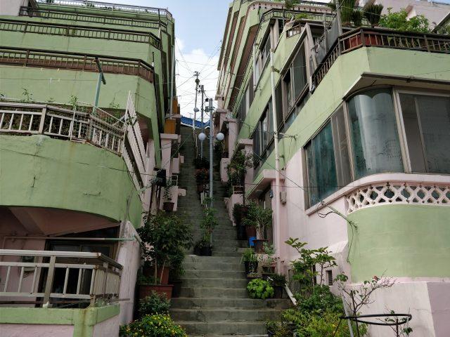 サムマイウェイ撮影地①ードンマンとエラ、ジュマンとソリが住んでいたナムイルビラ訪問(釜山)