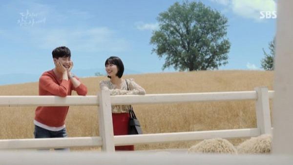 ホンジュはジェチャンにデートをしようと言ってこの事件を引き受けないように防ぐつもりです。