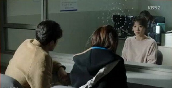 ユン・ミジュに面会を行ったワンスンとソルオク