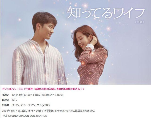 「知ってるワイフ」を日本で視聴する方法