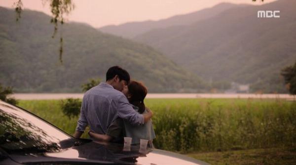 お互いの心を確信してキスするジホとジョンイン