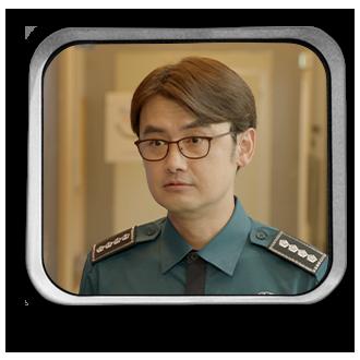 ジョン・ウォンチュル(전원출)役ーアン・サンウ(안상우)