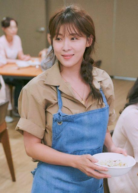 ムン・チャヨン役(문차영)ーハ・ジウォン(하지원)