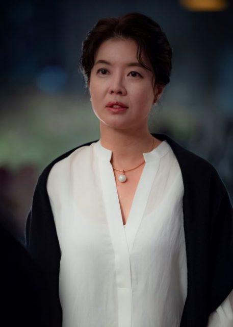 ジョ・ジョンミン(조정민)役ーキム・ヨジン(김여진)