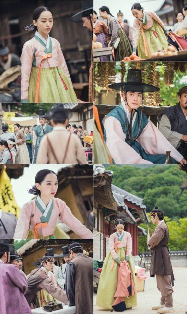 「哲仁王后」側が公開したシンヘソンとキムジョンヒョンのデート姿